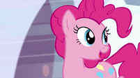 "Pinkie Pie ""when you run so fast"" S9E1"
