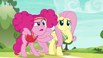 "Pinkie Pie asking ""serious how?"" S6E18"