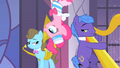 Pinkie Pie talking while on ceiling S1E26.png