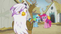 Pinkie wants to know where the Idol of Boreas is S5E8