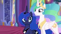 "Princess Celestia ""Dragons glow whenever the Dragon Lord..."" S6E5"