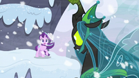 "Queen Chrysalis ""you'll pay for that!"" S9E24"