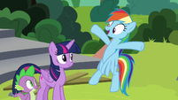 Rainbow -I gotta tell everypony I know!- S8E7