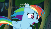 "Rainbow Dash ""the A. K. Yearling I know"" S7E18"