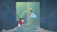 Rainbow Dash -the other half might open- S9E4