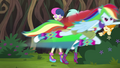Rainbow Dash flying off at high speed EG4.png