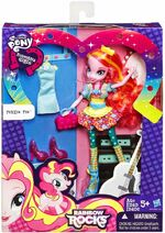 Rainbow Rocks Fashion Doll Pinkie Pie toy packaging