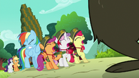 Rainbow and CMC scared of Harry S6E15