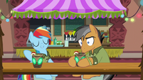 Rainbow makes a suggestion; Quibble stunned S6E13