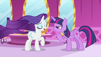 "Rarity ""actually, there was no spell"" MLPS1"