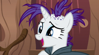 "Rarity ""maybe your shampoo had triggered"" S7E19"