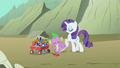 Rarity and Spike hunting for gems S1E19.png