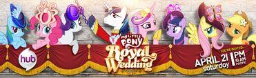 Royal Wedding Hub promo poster