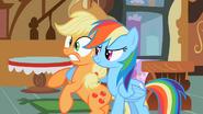 S02E08 Rainbow obejmuje Applejack
