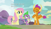 "Smolder ""having Spike and me accept him"" S9E9"