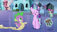 Starlight levitating a footstool S6E1