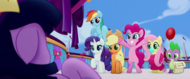 Twilight's friends looking supportive MLPTM