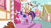 Twilight nose slammed S2E13