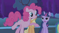 Twilight to Pinkie 'Not so fast' S1E02