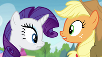 AJ and Rarity make a troubling realization S4E22