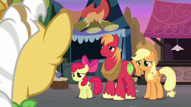 "File:Applejack ""you already know who we are"" S7E13.png"