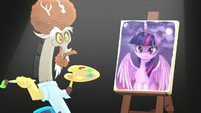 Discord appears as Bob Ross again S5E22