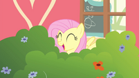 Fluttershy happy while singing S4E14