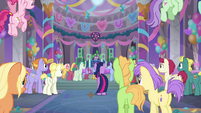 Friendship students at the Amity Ball S9E7