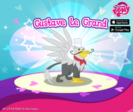 MLP mobile game Gustave le Grand promo