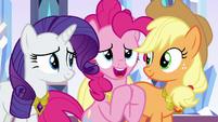 "Pinkie Pie ""mmm, cakewalk..."" S9E1"