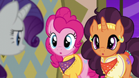 Pinkie and Saffron answer --two-- S6E12