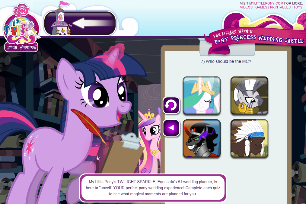 Image Pony wedding gamepng My Little Pony Friendship is Magic
