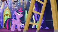 Princess Twilight Sparkle hanging a painting EGSB