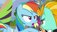 "Rainbow Dash ""finding the best flyers"" S8E20"