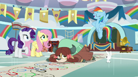"Rainbow Dash ""that was the hard one"" S9E7"
