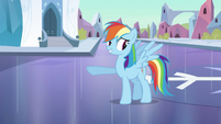 Rainbow Dash 'Pretty good mood' S3E2