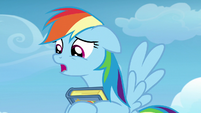 Rainbow Dash -can I tell you something-- S7E7