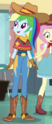 Rainbow Dash cowgirl outfit ID EGS1