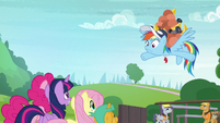 Rainbow Dash looking stunned S9E15