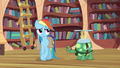 Rainbow Dash trying to act indifferent S03E11.png