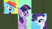 Rarity 'See you in the center' S2E01