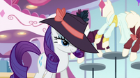 Rarity about to do something S5E15