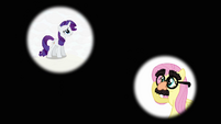 """Rarity and Fluttershy """"it's got to be"""" S03E13"""