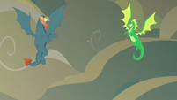 Torch and green dragon corner Flash Magnus S7E16