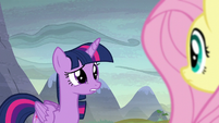 Twilight Sparkle in surprise S5E23
