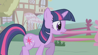 Twilight hears about the new unicorn in town S1E06