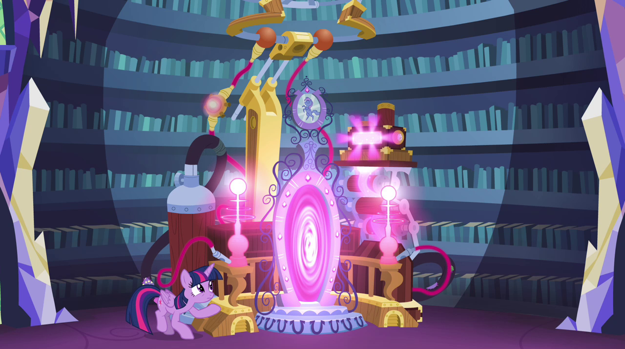Twilight successfully opens the Crystal Mirror EG2