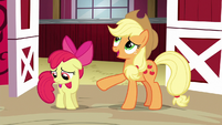 Applejack --why would anypony want to win-- S6E14