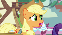 Applejack -if I'm bein' honest- S7E9