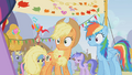 Applejack and Rainbow Dash surprised S01E13.png